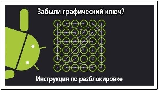 Что делать если забыл графический ключ на lenovo s820
